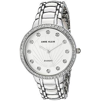 Anne Klein alliage argenté Mens Watch AK-2781SVSV