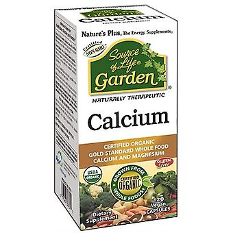 Nature's Plus Source of Life Garden Organic Calcium 1000mg VCaps 120 (30731)