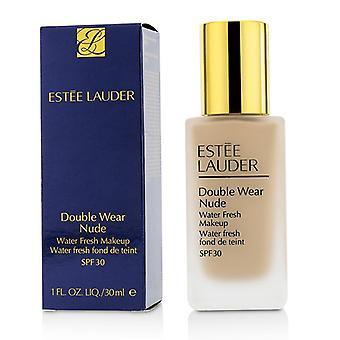 E. Lauder dubbel slitage Nude Water Fresh makeup Spf30 1c2 Petal 30ml