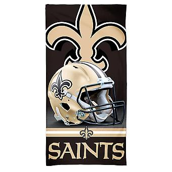 Wincraft NFL New Orleans Saints 3D Beach håndkle 150x75cm
