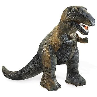 Hand Puppet - Folkmanis - Tyrannosaurus Rex  New Animals Soft Doll Plush 2113