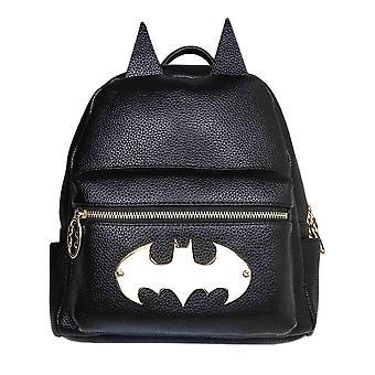 Batman Gotham Gold Logo Fashion Backpack
