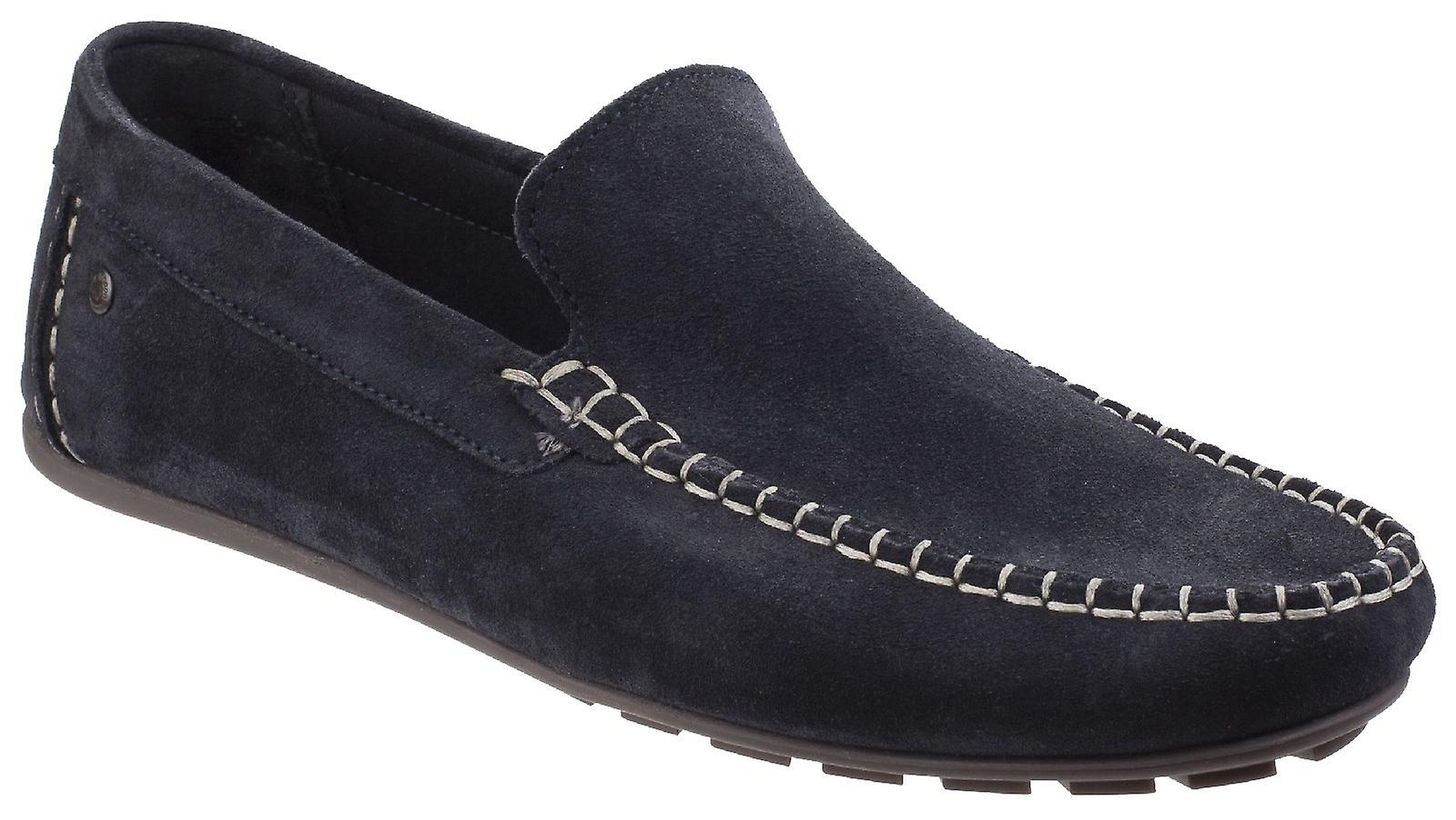 Base London Mens Henton Suede Leather
