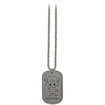 Necklace - One Piece - New Chopper Dog Tag Toys Gifts Anime Licensed ge8285