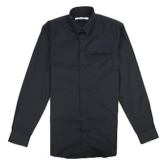 Givenchy taped Detail Shirt schwarz