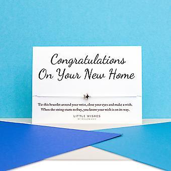 تهانينا على بطاقة سوار الرغبة المنزلية الجديدة مع مغلف