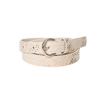 Beige Snake Effect Belt