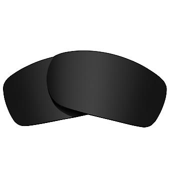 Replacement Lenses for Oakley Fives Squared Sunglasses Dark Gray Anti-Scratch Anti-Glare UV400 by SeekOptics