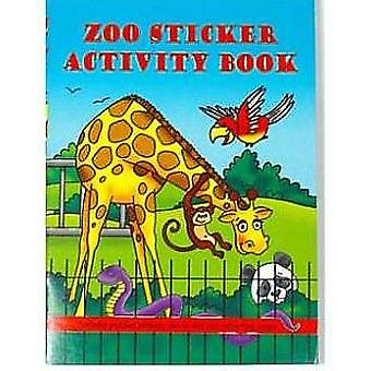 Zoo Animal Mini Sticker Activity Book for Party Bags