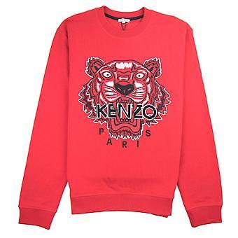 Kenzo Tiger Sweatshirt Rouge