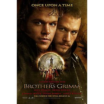 The Brothers Grimm (Double Sided Advance Style F) Original Cinema Poster