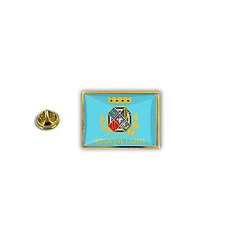 Pine Pines PIN badge PIN-apos; s metalen epoxy met vlinder pinch vlag Italië Lazio