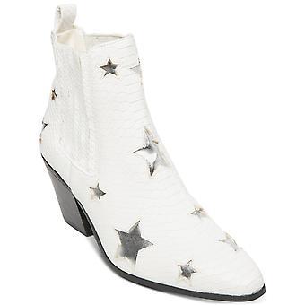 Betsey Johnson Womens Izak Open Toe Ankle Fashion Boots