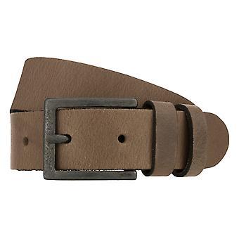 Teal Belt Men's Belt Leather Belt Jeans Belt Grey 8266