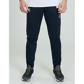 Canterbury Mens England Knitted Track Pants Trousers Bottoms