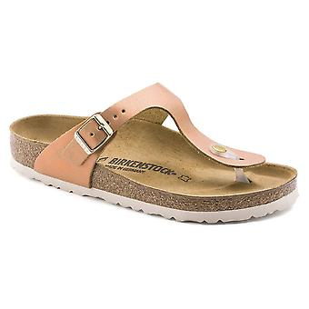 Birkenstock Gizeh NL Sandal 1012910 Washed Metallic Sea Copper NARROW