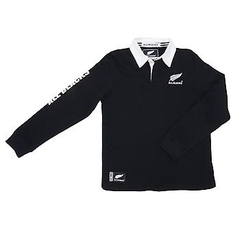 New Zealand Rugby All Blacks Kids Long Sleeved Rugby Shirt | 2019/20 Season