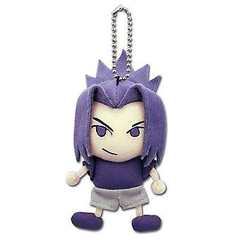 Key Chain - Naruto Shippuden - New Sasuke Plush Anime Licensed ge3827