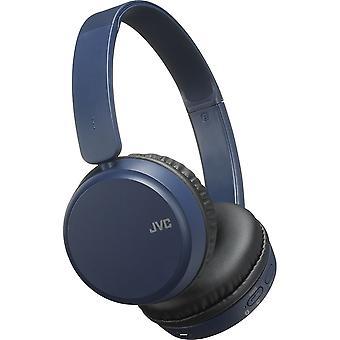 Deep Bass Bluetooth On Ear Headphones - Blue (Model No. HAS35BTAU)