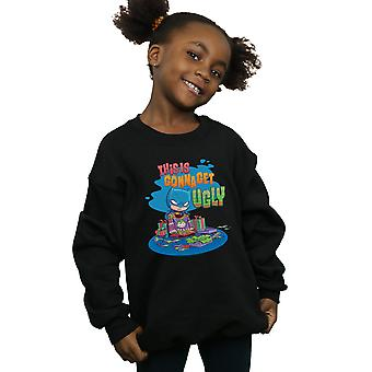 DC Comics Ragazze Super Amici Batman Joker Christmas Jumper Sweatshirt