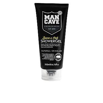Mancave Body Care citroen & Oak Douche Gel 200 Ml voor mannen