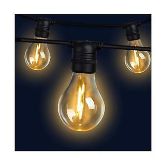 50M Led Festoon String Lights 50 Bulbs Kits A19