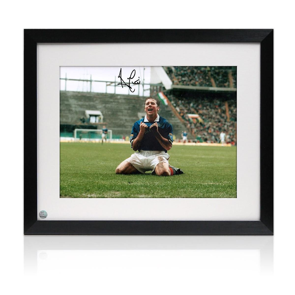 Ally McCoist Signed Rangers Photo: Scottish Cup Semi Final Framed