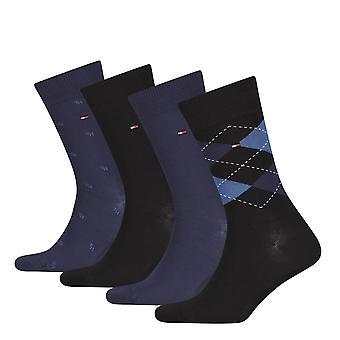 Tommy Hilfiger 4-Pack Dark Navy Sock Gift Set