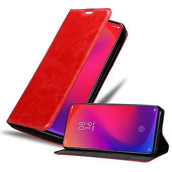 Hoesje voor Xiaomi RedMi K20 / Mi 9 T Opvouwbaar telefoonhoesje - Hoesje - met standaardfunctie en kaartvak