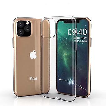 0.75mm Ultra-thin Shockproof TPU Protective Case for iPhone 11 Pro MaxTransparent