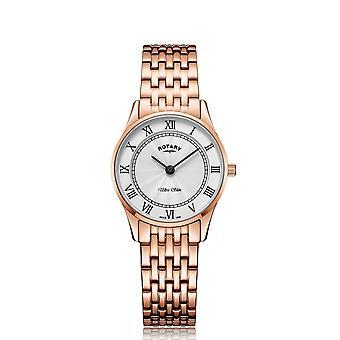 Rotary LB08304-01 Women's Ultraslim Wristwatch