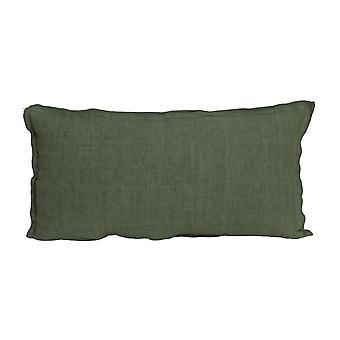 Licht & Living Kissen 60x30cm Flansch grün