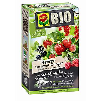 COMPO ORGANIC Berries Long-term fertilizer with sheep wool, 750 g