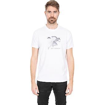 Trespass Herren Lyons Ii Quick Dry Rundhals-T-Shirt