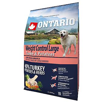 Ontario Large Weight Control Turkey & Potatoes (Dogs , Dog Food , Dry Food)