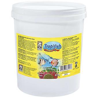 TropiFish Granulo 1Mm 650G (Fish , Food , Warm Water)