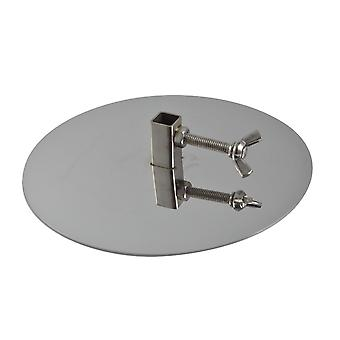 Outdoor Magic 10mm Stainless Steel Gyros Plates (Set of 2)
