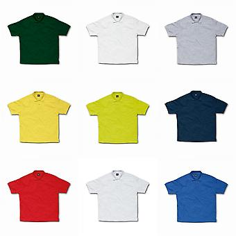 SG Kids/Childrens Polycotton Short Sleeve Polo Shirt
