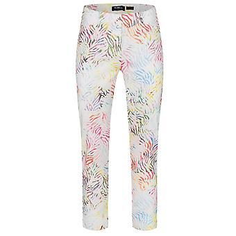 ROBELL Robell Multicoloured Trouser Rose 51627 54828 14