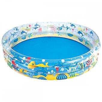 Bestway Deep Dive 3-Ring Paddling Pool 60 Inch Ages 2 Years+