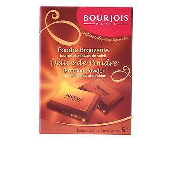 Bourjois Délice De Poudre Bronzing Powder #51-Peaux Claires 6 Ml für Frauen