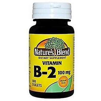 Nature's blend b-2, 100 mg, tablets, 100 ea