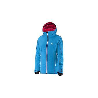 サロモンホワイトクリフW 374721スキーオールイヤーレディースジャケット