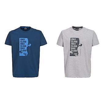 Overtreding Mens Tramore Casual Short Sleeve T-Shirt