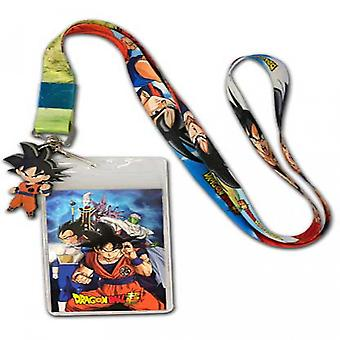 Dragon Ball Super ID Badge and Charm Lanyard