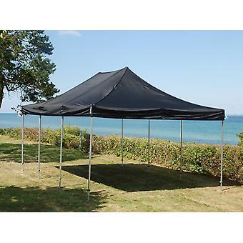 Vouwtent/Easy up tent FleXtents Steel 4x6m Zwart