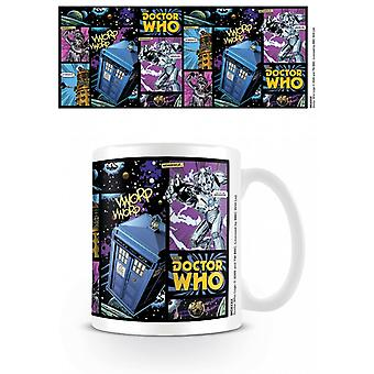 Doctor Who Comic Strip Caneca