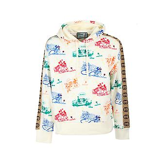 Gucci 601731xjb6l9510 Men's Multicolor Katoen Sweatshirt
