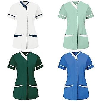 Alexandra Womens/Ladies Contrast Trim Medical/Healthcare Work Tunic