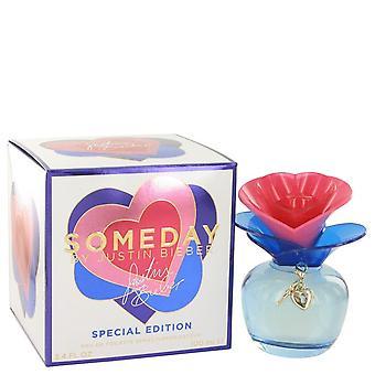 Someday Eau De Toilette Spray By Justin Bieber 3.4 oz Eau De Toilette Spray